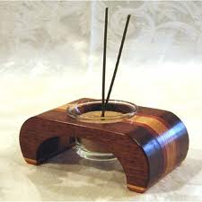 wooden incense accessories