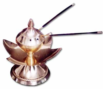 metallic incense accessories